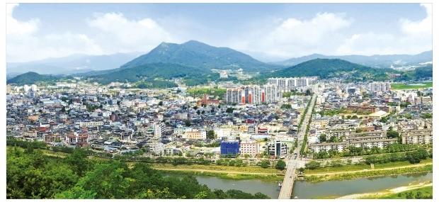 전북 남원시내 전경