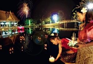 태국 전통 축제인 러이 끄라통.
