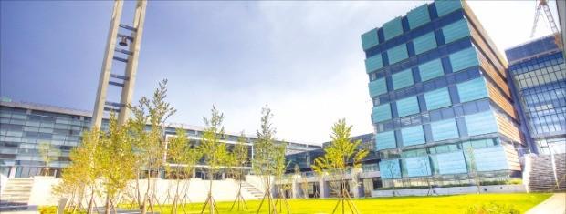송도국제도시에 있는 국제학교 채드윅인터내셔널.