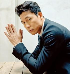 28일 개봉하는 영화 '아수라'에서 비리 형사 역을 연기한 배우 정우성. CJ E&M 제공