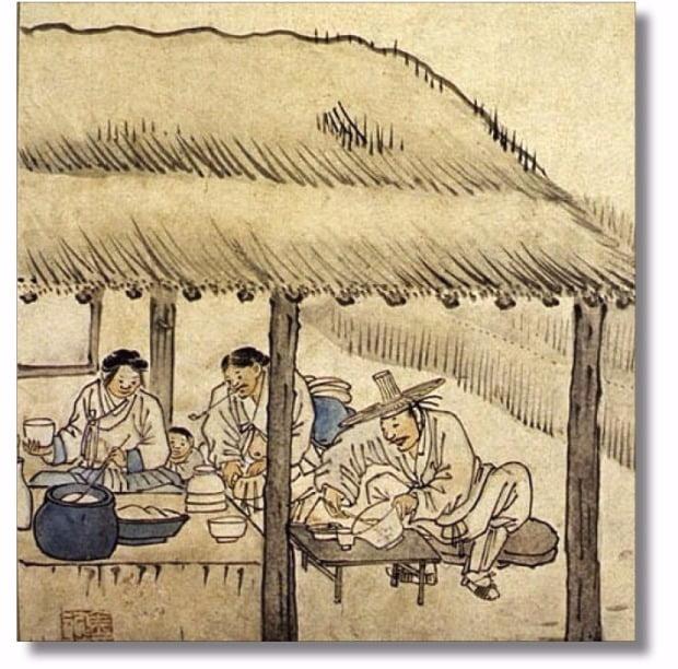 조선시대에는 흉작이 들어 기근이 발생하면 종종 술 마시는 것을 법으로 제한하는 금주령을 내렸다.