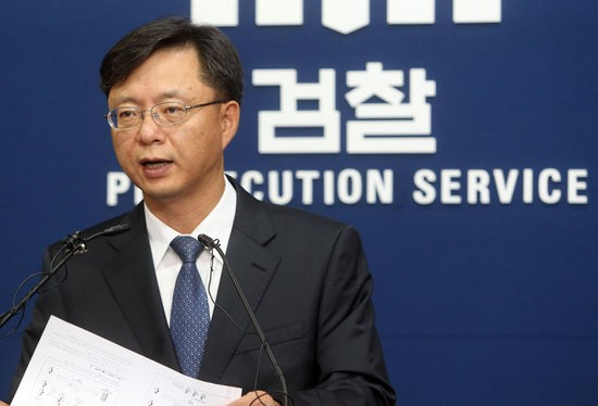 우병우 청와대 민정수석. 자료사진