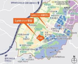 [충북혁신도시 우미 린스테이②입지]단지 앞 유치원·초교, 공원으로 둘러싸여