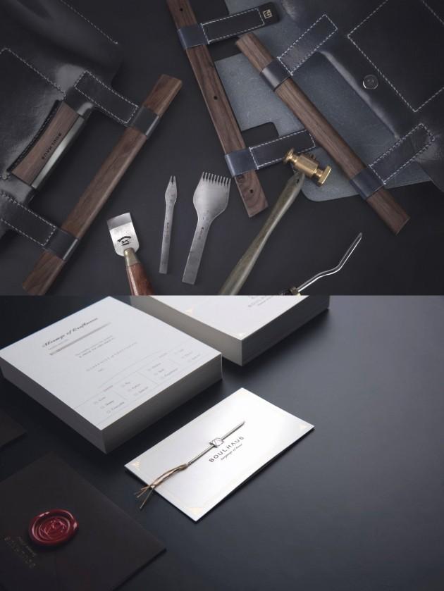 보울하우스의 제품보증서에는 실오라기가 달린 실제 사용 바늘이 함께 동봉된다. /사진=보울하우스