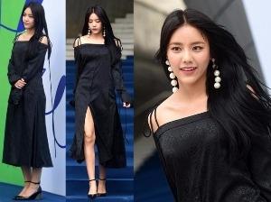 서울패션위크, 숨막히는 앞트임 AOA 혜정