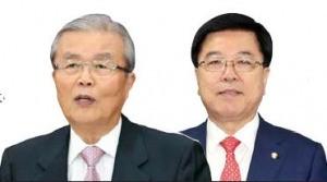 김종인 민주당 의원(좌) · 김광림 새누리당 정책위 의장(우)