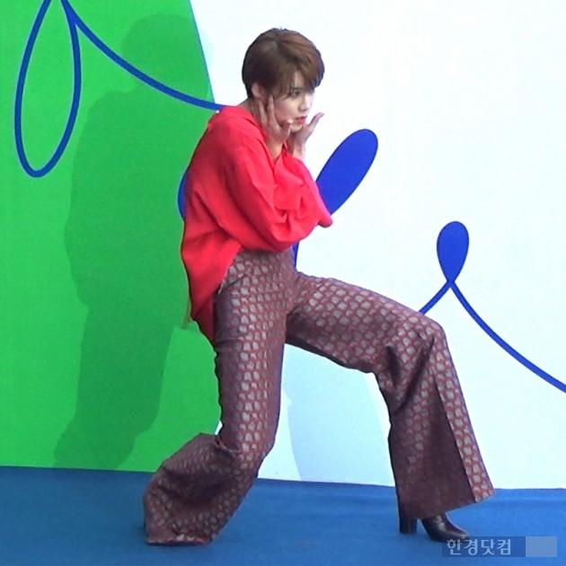 헤라 서울 패션위크 s/s 2017 '푸쉬버튼' 방송인 장도연 /사진=김광순 기자