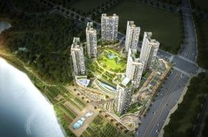 호수공원 끼고 있는 남동탄 최대 상업시설