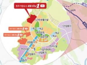 [원주기업도시 EG더원 1차②입지]제2영동고속도로 내달 개통, 도보권 2개 초교