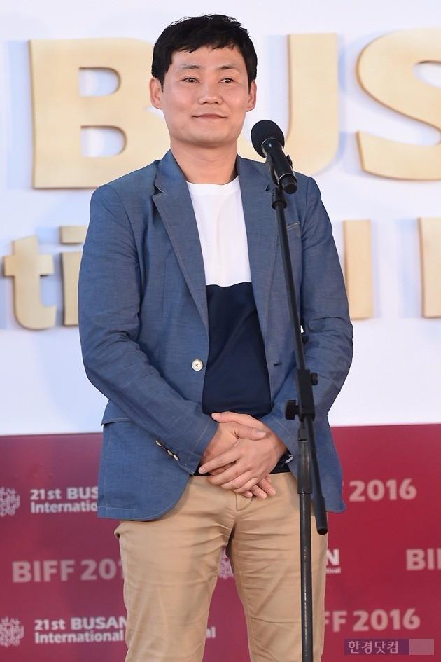 영화 '두 남자'의 이성태 감독 /사진=변성현 기자