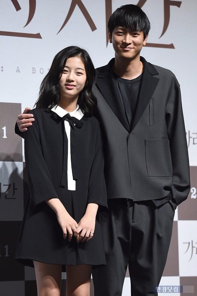 '가려진 시간' 신은수-강동원 / 사진 = 변성현 기자
