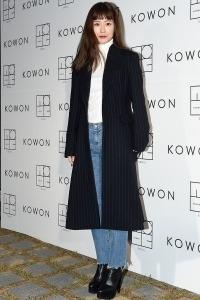 [HEI포토] 정유미, '청바지에 코트만 입어도 아름다워~'