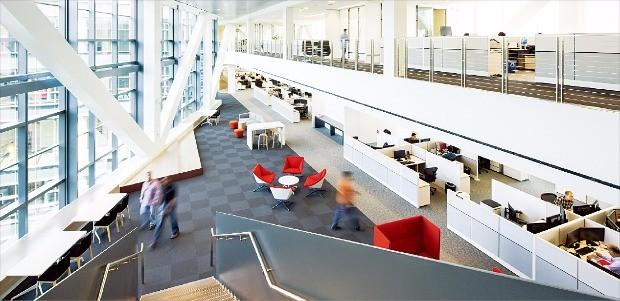 기술기업 인수합병(M&A)의 첨병 역할을 하는 실리콘밸리의 삼성전자 사옥.