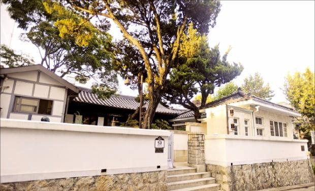 제2공화국에서 국가 행정의 책임자였던 장면 총리의 집(서울 종로구 혜화동).