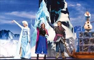 겨울왕국 공연