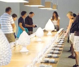 ③ '플로리오' 와이너리투어에서 진행된 와인시음회.