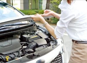 미끄러워진 도로…타이어 마모상태·공기압 체크하세요