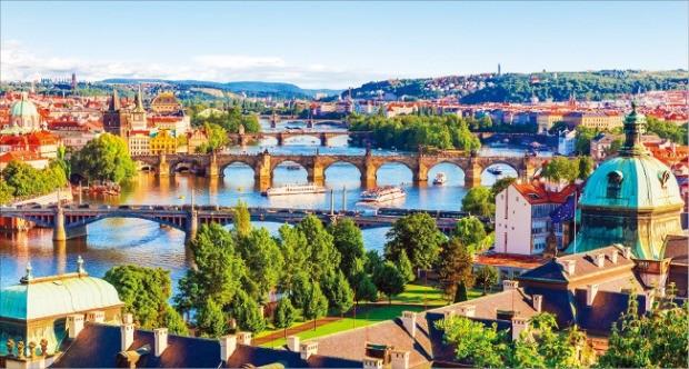 시니어 여행객이 가장 원하는 여행지는 유럽이었다. 사진은 체코 프라하.