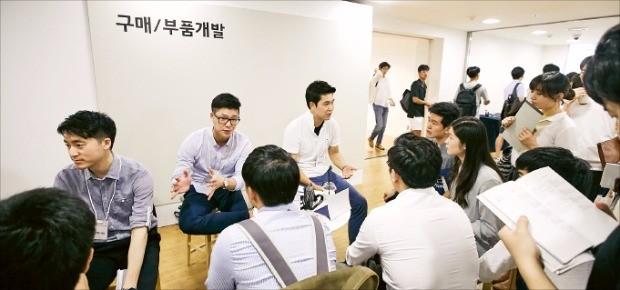 현대자동차는 지난 8월25일부터 이틀간 서울 동대문디자인플라자(DDP)에서 잡페어를 열었다.