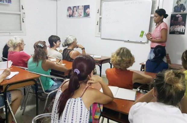 에듀윌이 컴퓨터 등을 지원한 쿠바 한글공부방