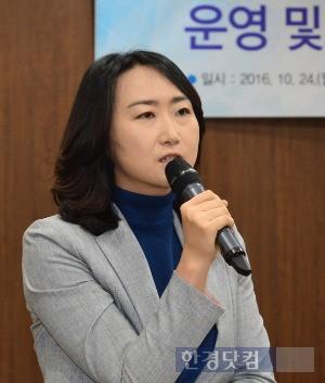 '서울형 혁신교육지구 운영에 관한 조례안'을 대표발의한 장우윤 서울시의원.