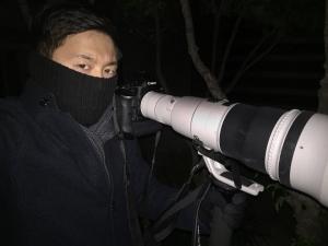 2014년 12월부터 조선일보 사진부에서 객원기자로 일하고 있는 고운호 기자. 사진= 페이스북 갈무리
