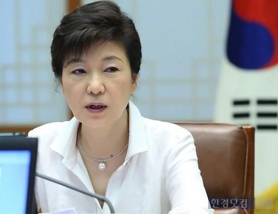 박근혜 대통령(사진)은 8일 야당이 김병준 국무총리 내정자 카드를 끝내 수용하지 않을 경우 국회가 추천한 총리를 제안 받을 것으로 알려졌다. 한경DB.