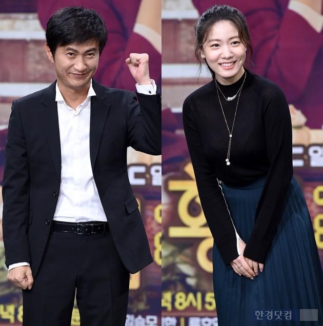 '황금주머니' 안내상 류효영 / 사진 = 변성현 기자