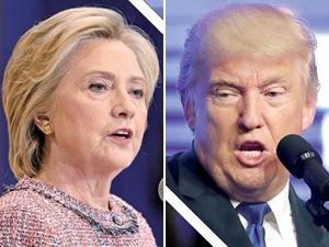 힐러리 클린턴 vs 도널드 트럼프, 드널드 트럼프 공화당 후보의 대통령 당선이 유력시되고 있다.