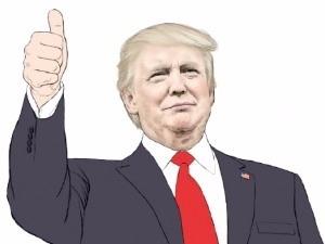 도널드 트럼프 미국 45대 대통령 당선인