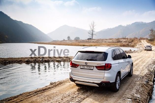 지난 10일 강원도 춘천에서 BMW의 대형 스포츠유틸리티차량(SUV) X5 X드라이브 30d를 시승했다. / BMW코리아 제공