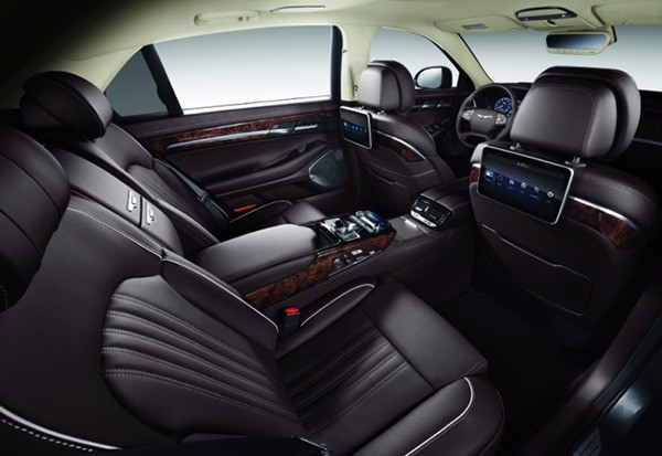 제네시스 EQ900에 탑재된 하만의 고급 오디오 브랜드 렉시콘의 카오디오 시스템. / 현대차 제공