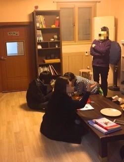 B 씨는 서울시 마포구 합정동에 위치한 지역아동센터에서 '아동돌봄' 도우미로 6개월째 근무 중이다.
