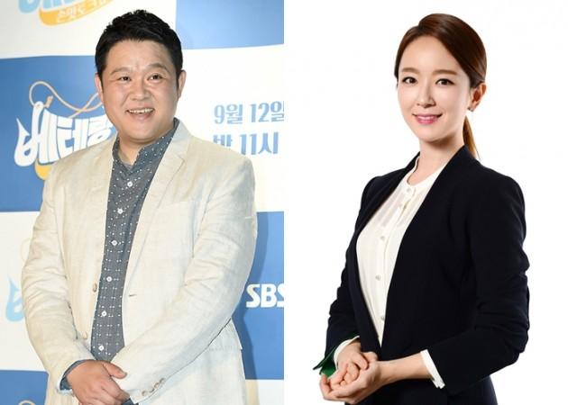 김구라 박선영 아나운서 /SBS '본격연예 한밤'