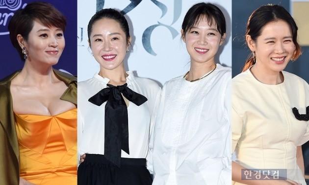 충무로 대표 여배우 김혜수, 엄지원, 공효진, 손예진 /사진=한경DB