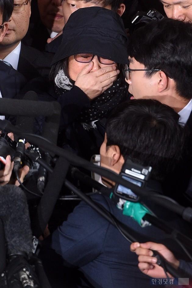 최순실 검찰 출석 /사진=최혁 기자