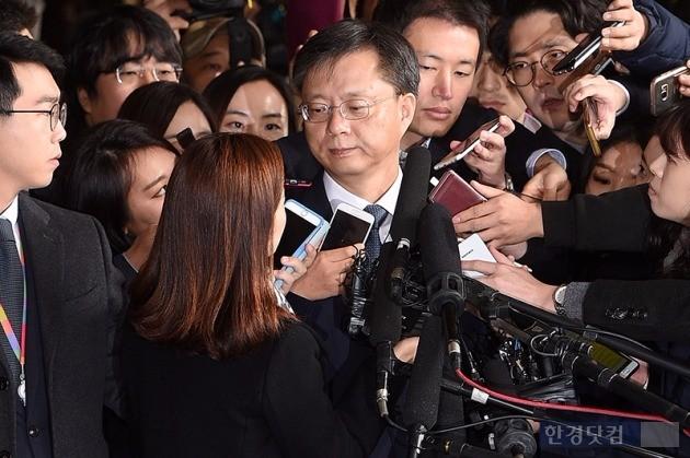 우병우 전(前) 청와대 민정수석비서관. / 최혁 기자