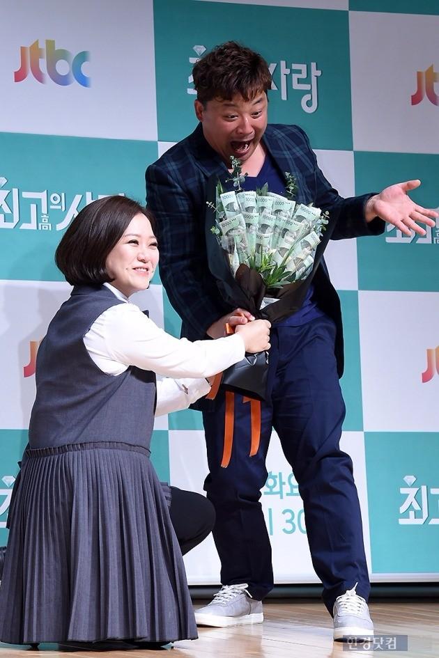 '님과 함께2' 김숙-윤정수 / 사진 = 변성현 기자