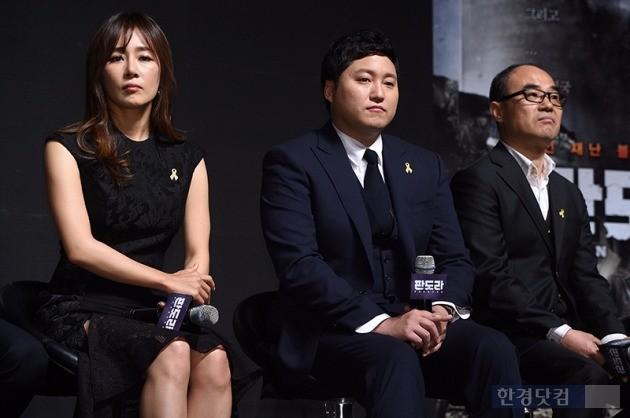 '판도라' 제작보고회 문정희, 김대명, 강신일 / 사진 = 최혁 기자