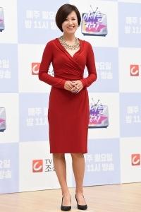 박미선, '빨간 원피스 입고 우아하게~'