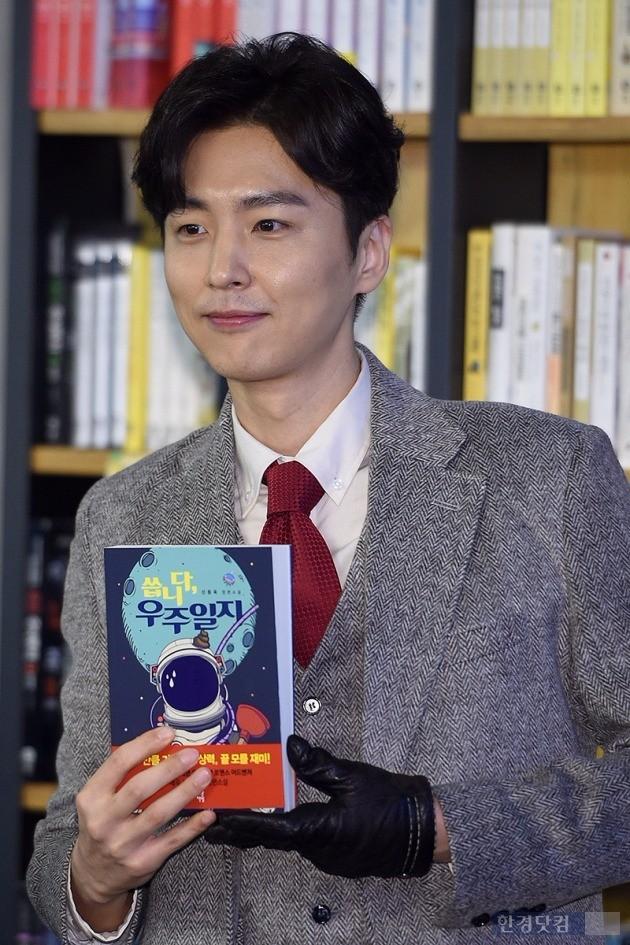 신동욱 소설가 데뷔 /사진=최혁 기자