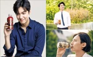 최근 커피 광고 모델로 활동 중인 미남 배우들.