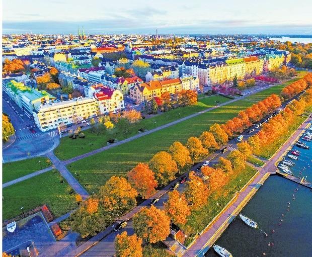 헬싱키에 가을이 오면 숲에도 바다에도 낭만이 깃든다. 핀란드관광청  제공