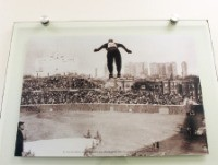 스키 점프 대회 사진
