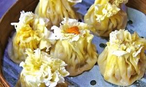 두이추의 꽃봉오리 모양 찐만두 '사오마이'