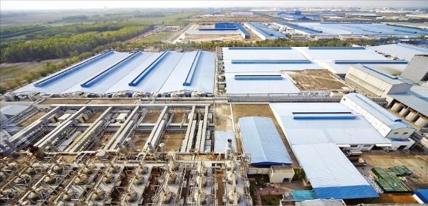 효성 베트남 공장 전경