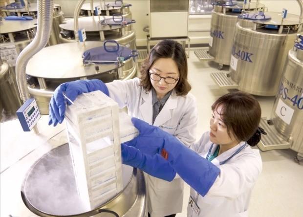 서울아산병원 아산생명과학연구원 연구자들이 의약품 개발을 위한 실험을 하고 있다. 서울아산병원 제공