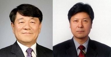 신상문 부사장(왼쪽)과 최형석 부사장 / 제공 LG디스플레이