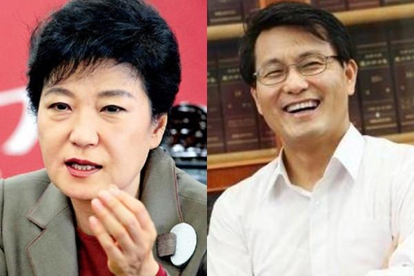 박근혜 대통령 윤상현 의원 /사진=한경DB, 윤 의원 페이스북
