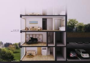 """""""한지붕 세가족도 가능해"""" 한 집이 3개층 쓰는 아파트"""